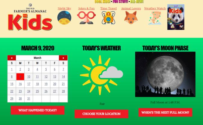 Farmers-Almanac-kids-screenshot-675x417 Top 50 Free Learning Websites for Kids in 2021