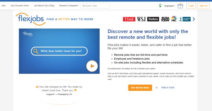 Flex-Jobs-screenshot-675x354 Best 50 Online Job Search Websites