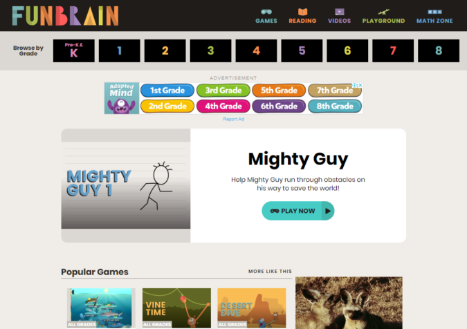 Fun-brain-screenshot-675x476 Top 50 Free Learning Websites for Kids in 2020