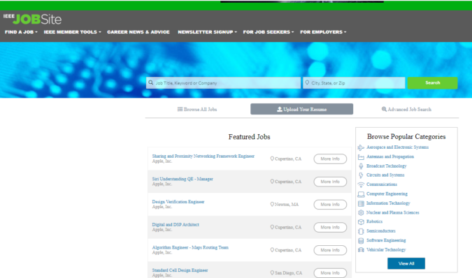 IEEE-Job-Site-screenshot-675x398 Best 50 Online Job Search Websites