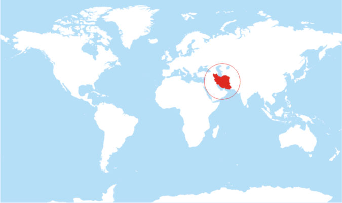 Iran-world-map-675x401 Top 10 Most Dangerous Countries for Women in the World