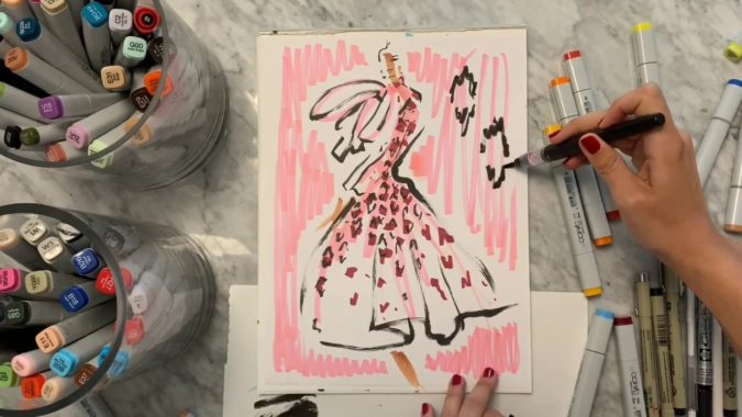 Jenny-Walton.-2-675x380 20 Most Creative Fashion Illustrators in The USA