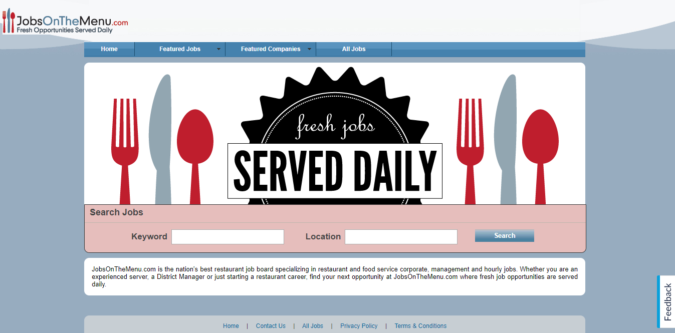 Jobs-on-the-Menu-screenshot-675x333 Best 50 Online Job Search Websites