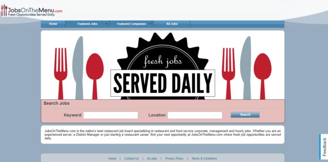 Jobs-on-the-Menu-screenshot-675x333 Best 50 Online Job Search Websites