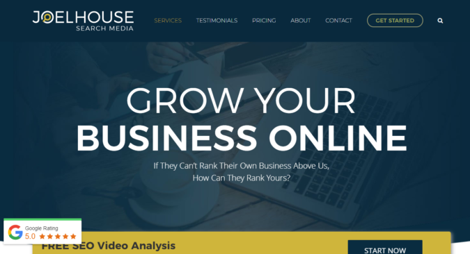 Joel-House-screenshot-675x366 Top 75 SEO Companies & Services in the World