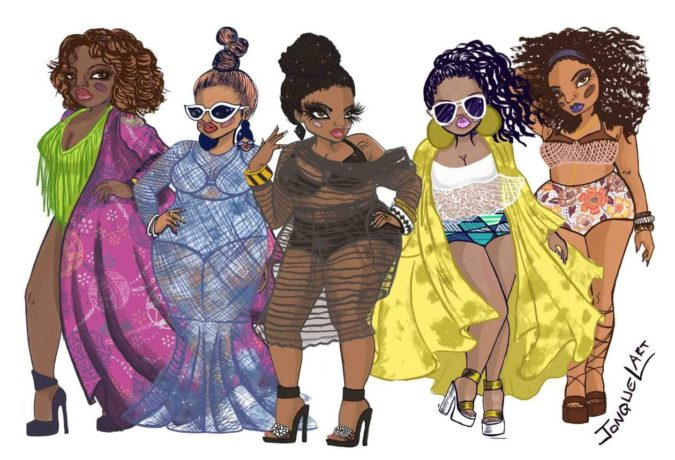Jonquel-Norwood-1-675x460 20 Most Creative Fashion Illustrators in The USA