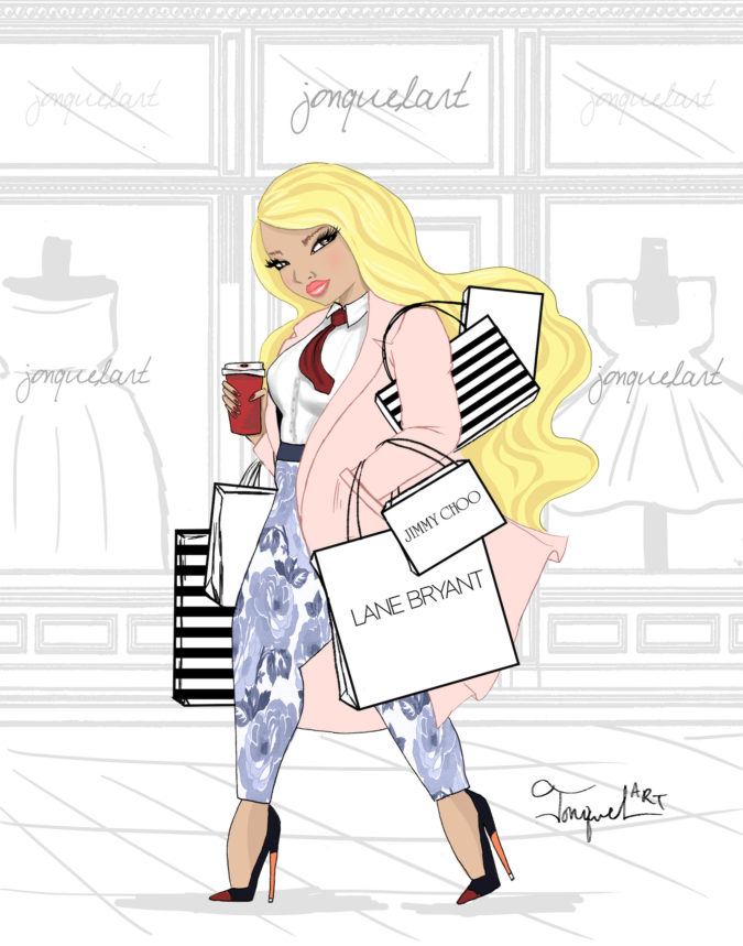 Jonquel-Norwood..-675x859 20 Most Creative Fashion Illustrators in The USA