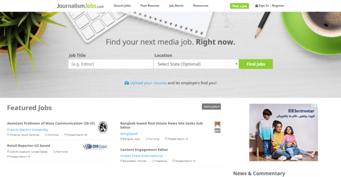 Journalism-Jobs-screenshot-675x350 Best 50 Online Job Search Websites