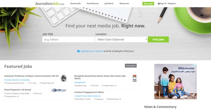 Journalism-Jobs-screenshot-675x350 Best 50 Online Job Search Websites