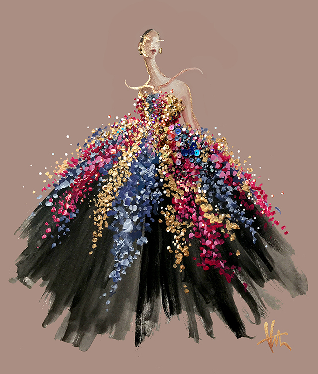 Katie-Rodgers. 20 Most Creative Fashion Illustrators in The USA
