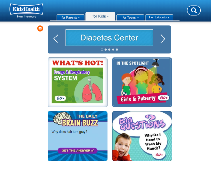 Kids-Health-screenshot-675x551 Top 50 Free Learning Websites for Kids in 2020