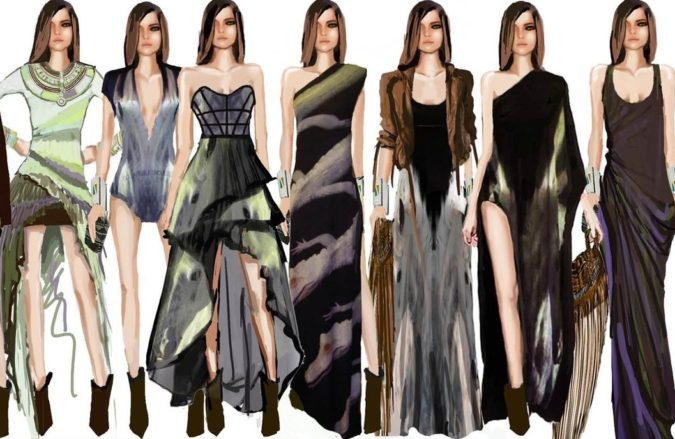 Leila-Shams-art-675x439 20 Most Creative Fashion Illustrators in The USA