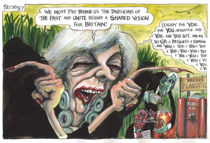 Martin-Rowson-cartoon-1-675x461 Top 20 Most Famous Cartoonists in The World 2020
