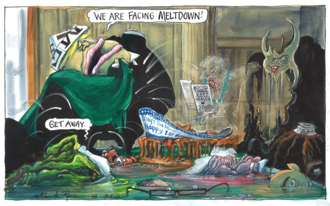 Martin-Rowson-cartoon-675x421 Top 20 Most Famous Cartoonists in The World 2020