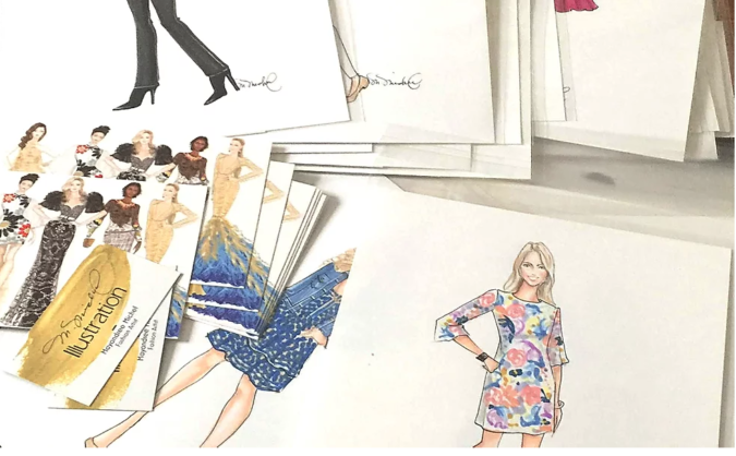 May-Michel-art-1-675x418 20 Most Creative Fashion Illustrators in The USA