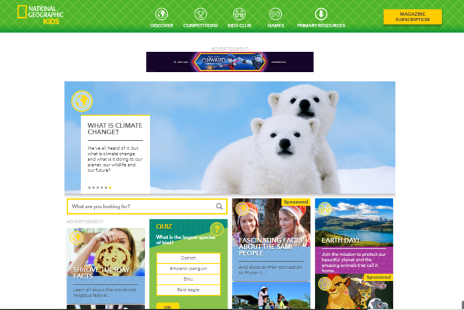 National-Geographic-kids-screenshot-675x452 Top 50 Free Learning Websites for Kids in 2021