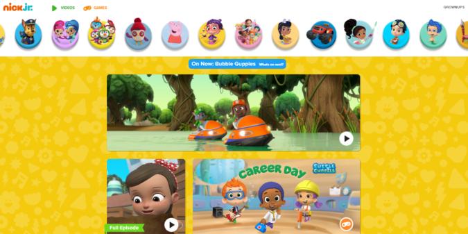 NickJr-screenshot-675x337 Top 50 Free Learning Websites for Kids in 2021