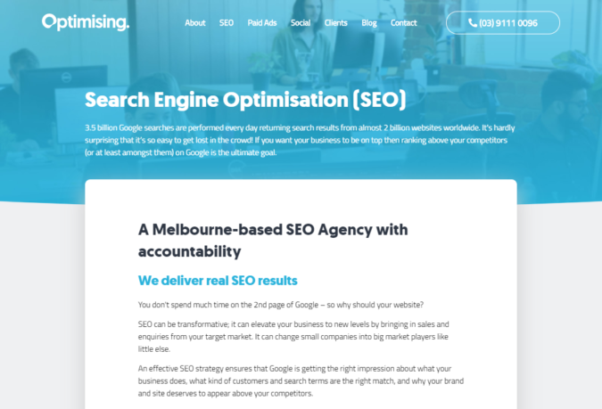Optimising-screenshot-675x459 Top 75 SEO Companies & Services in the World