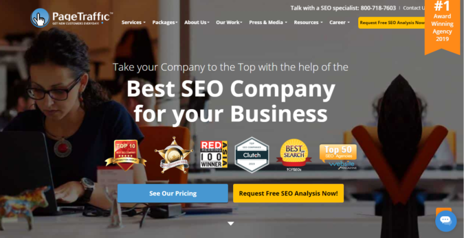 Page-Traffic-screenshot-1-675x347 Top 75 SEO Companies & Services in the World