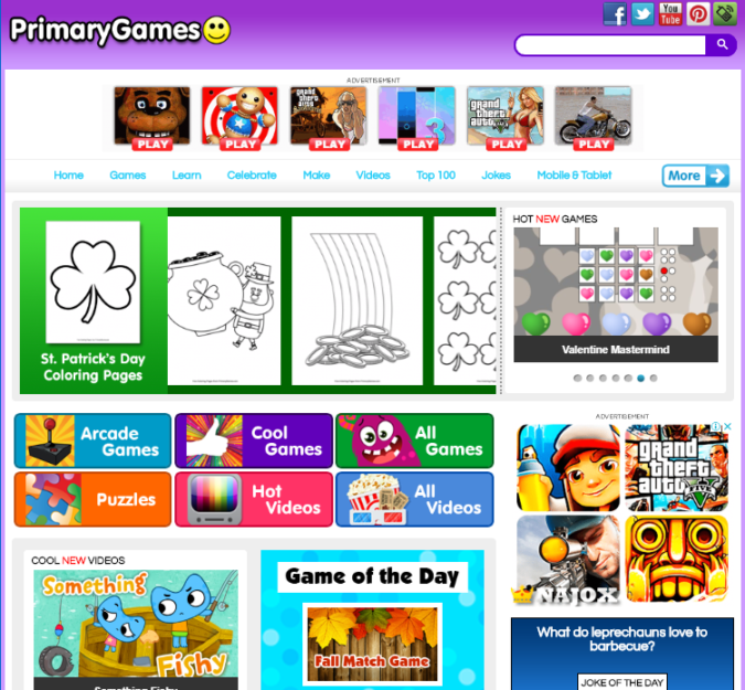 Primary-Games-screenshot-675x625 Top 50 Free Learning Websites for Kids in 2020