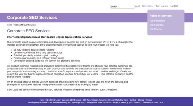 SEO-Logic-screenshot-675x374 Top 75 SEO Companies & Services in the World