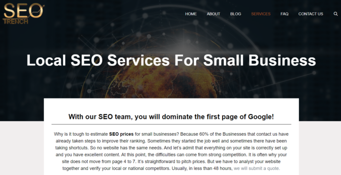 SEO-Trench-screenshot-675x348 Top 75 SEO Companies & Services in the World