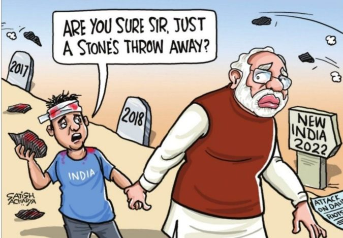 Satish-Acharya-cartoon-2-675x468 Top 20 Most Famous Cartoonists in The World 2021