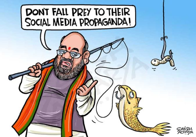 Satish-Acharya-cartoon-675x473 Top 20 Most Famous Cartoonists in The World 2020