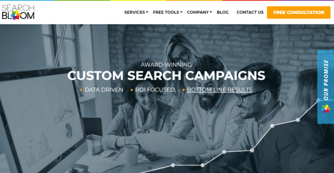 Search-Bloom-screenshot-675x349 Top 75 SEO Companies & Services in the World