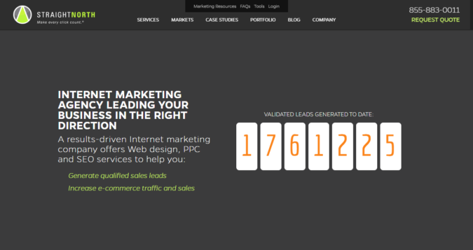Straight-North-screenshot-675x357 Top 75 SEO Companies & Services in the World