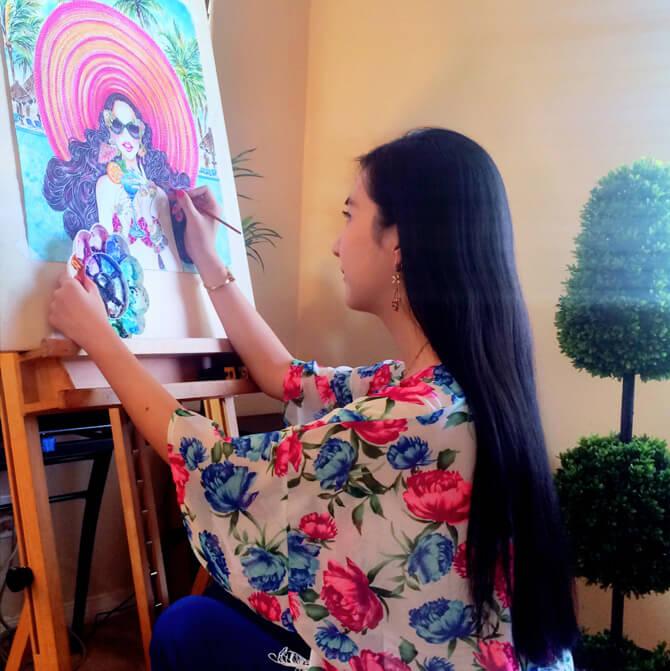 Sunny-Gu-1 20 Most Creative Fashion Illustrators in The USA