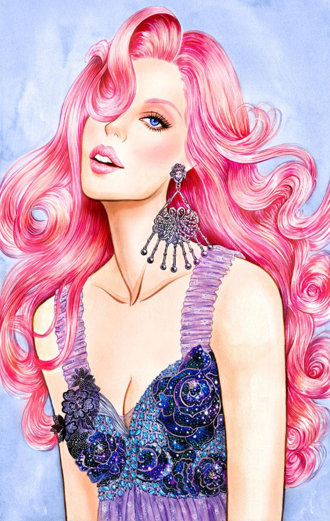 Sunny-Gu-2-675x1064 20 Most Creative Fashion Illustrators in The USA
