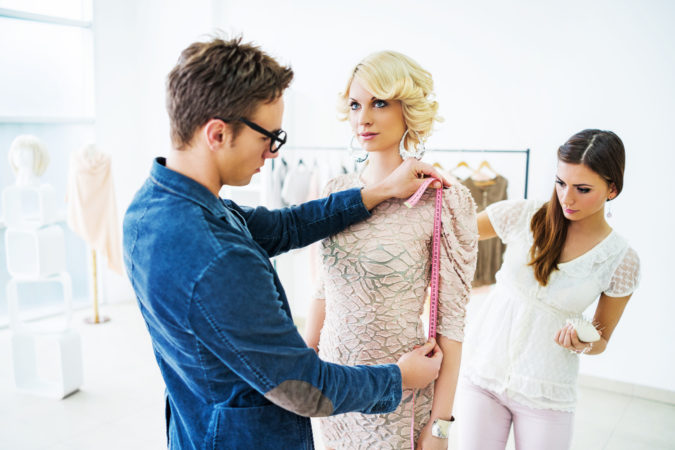 Tailor-with-client-675x450 Getting an Outfit Custom Made: 5 Tips for Success