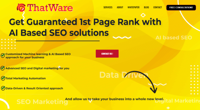 That-Where-SEO-website-screenshot-675x373 Top 75 SEO Companies & Services in the World