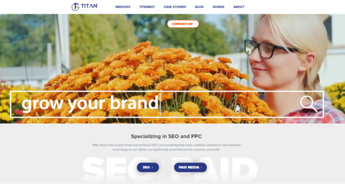 Titan-screenshot-675x361 Top 75 SEO Companies & Services in the World