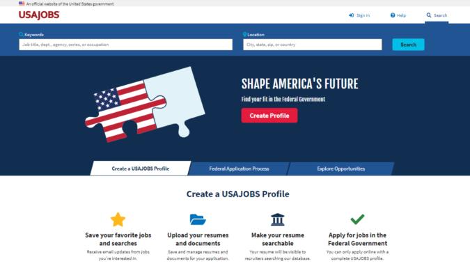 USA-Jobs-screenshot-675x392 Best 50 Online Job Search Websites