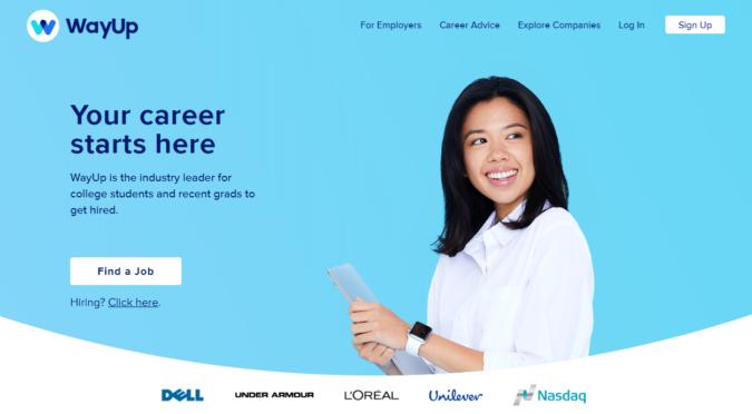 WayUp-screenshot-675x372 Best 50 Online Job Search Websites