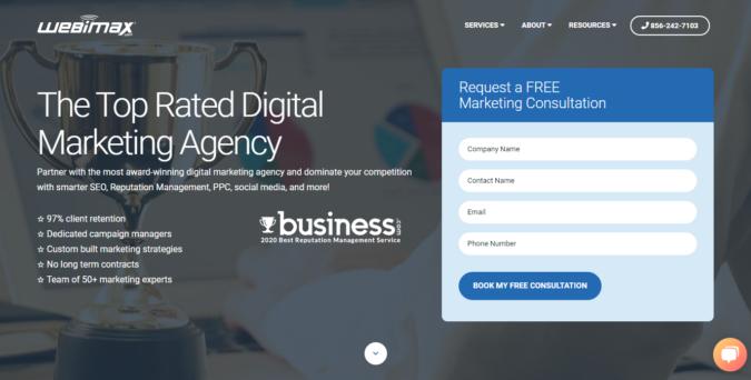 Webimax-screenshot-675x342 Top 75 SEO Companies & Services in the World