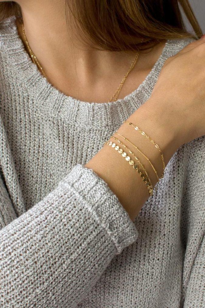 delicate-bracelets-675x1013 Bracelet Stacking: 4 Best Tips on How to stack Bracelets