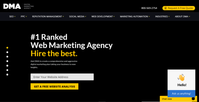 digital-marketing-agency-screenshot-675x346 Top 75 SEO Companies & Services in the World