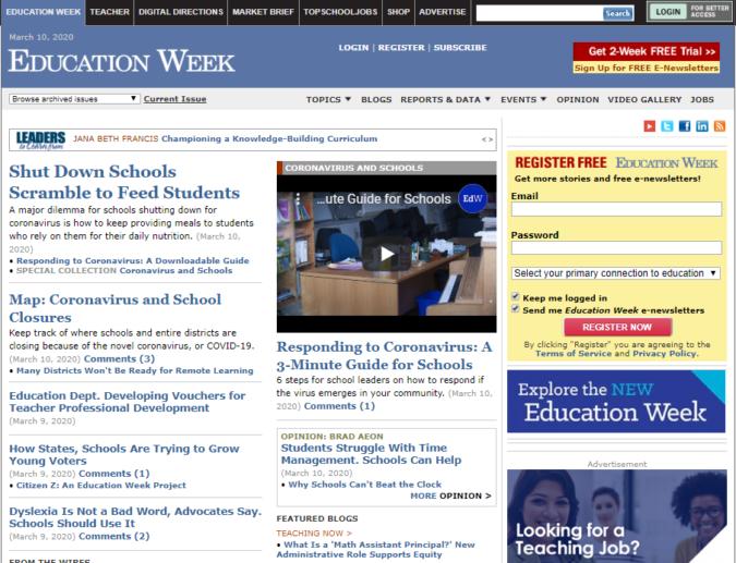 education-week-screenshot-675x517 Top 50 Free Learning Websites for Kids in 2020