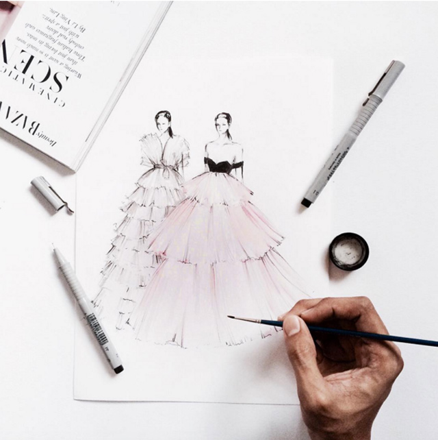 fashion-2 20 Most Creative Fashion Illustrators in The USA