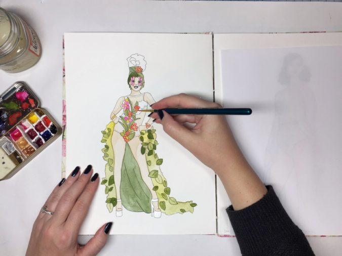 fashion-illustrator..-675x506 20 Most Creative Fashion Illustrators in The USA