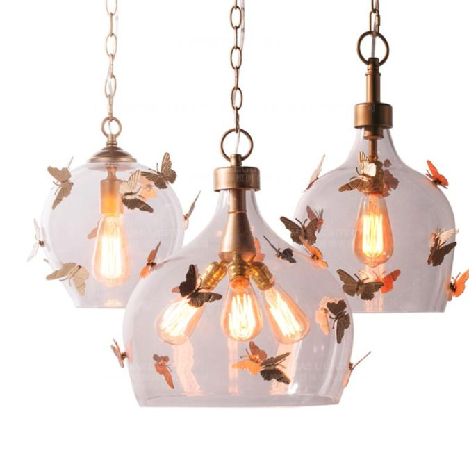 home-decor-Butterfly-ceiling-lamps-675x675 15 Hottest Ceiling Lamp Ideas for Teens' Bedrooms in 2021