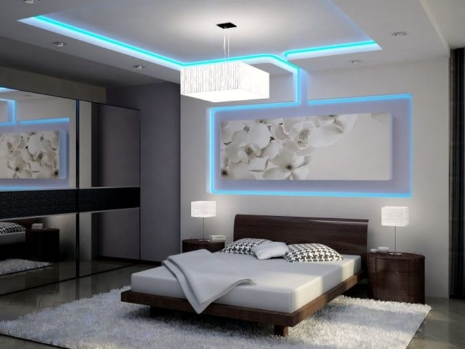 home-decor-Hidden-ceiling-lamps-2-675x507 15 Hottest Ceiling Lamp Ideas for Teens' Bedrooms in 2021