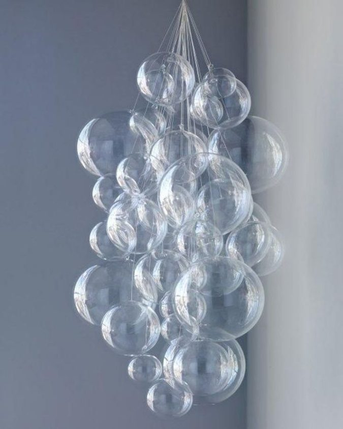 home-decor-bubble-glass-chandelier-675x844 15 Hottest Ceiling Lamp Ideas for Teens' Bedrooms in 2020