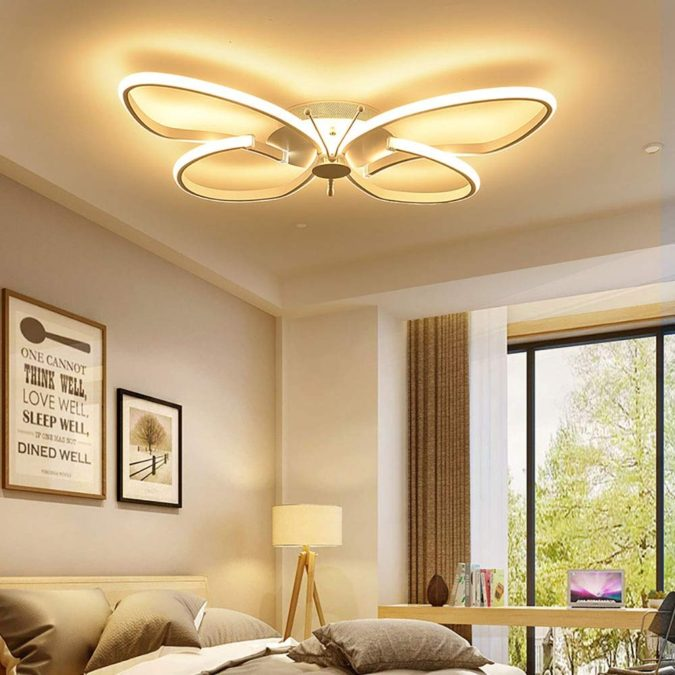 home-decor-butterfly-ceiling-lamp-2-675x675 15 Hottest Ceiling Lamp Ideas for Teens' Bedrooms in 2020
