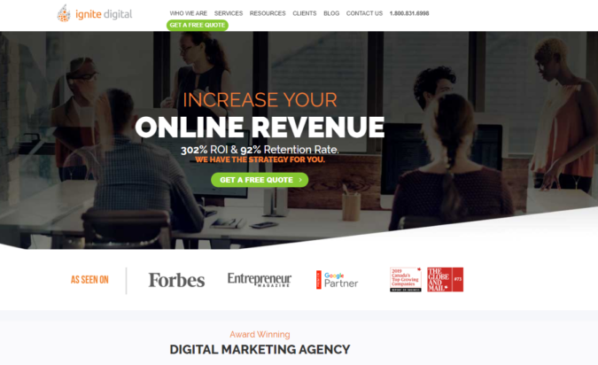 ignite-digital-screenshot-675x412 Top 75 SEO Companies & Services in the World