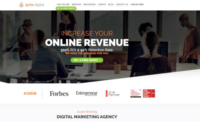 ignite-digital-screenshot-675x412 Top 75 SEO Companies & Services in the World