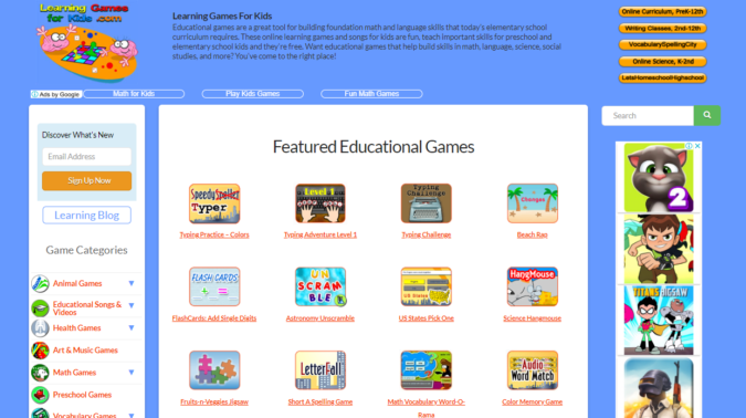 learning-games-for-kids-screenshot-675x378 Top 50 Free Learning Websites for Kids in 2020